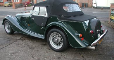 Morgan +4 4 seater (LDH) – 'Dickie Coupe' Conversion.