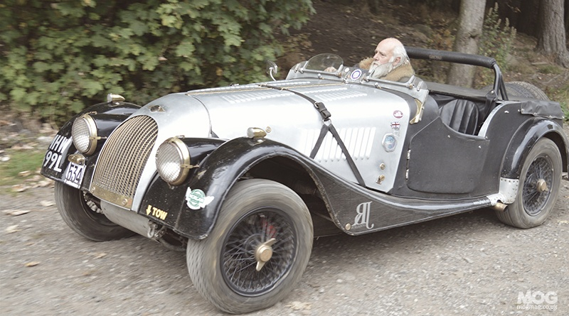 Edinburgh Trial in a Morgan!?