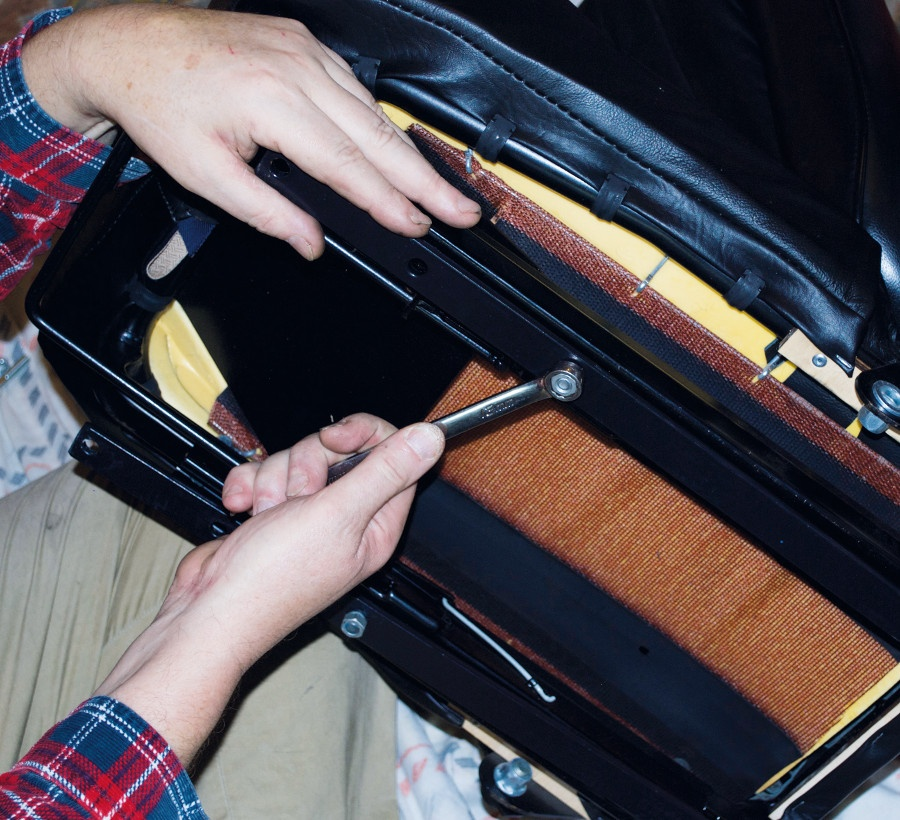 Seat Lowering Pt.1