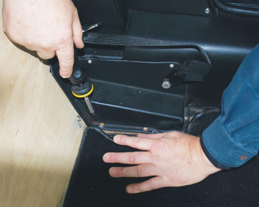 Seat Lowering Pt.2